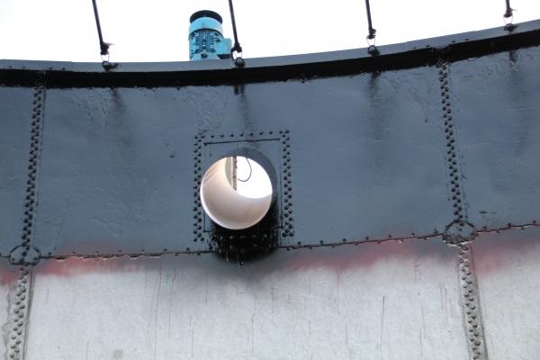 Deckbeschichtung in Schwarz