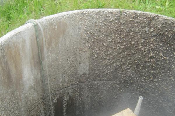 Zu sanierender Kanal - bei Beginn der Arbeiten
